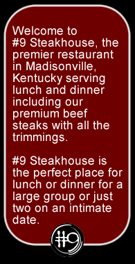 Steak restaurant in Madisonville, KY